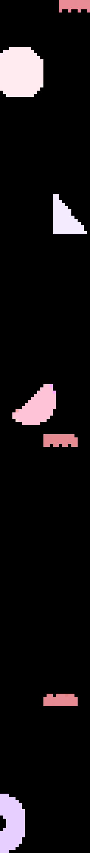 Background left shapes
