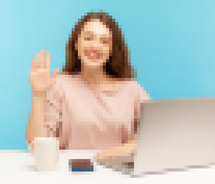 happy-to-show-laptop image
